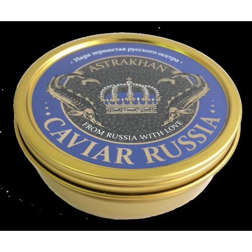 Икра осетровая Caviar Russia Astrakhan, 250 гр.